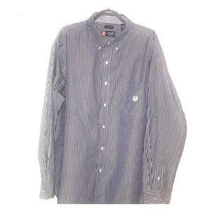 Chaps men's long sleeve button down collared shirt